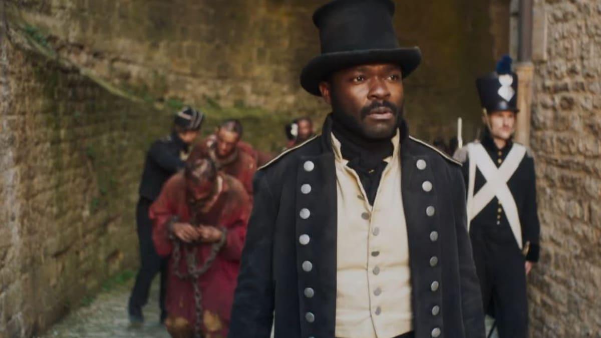 David Oyelowo plays Javert, a relentless policeman who believes Valjean was born a criminal. Pic credit: PBS