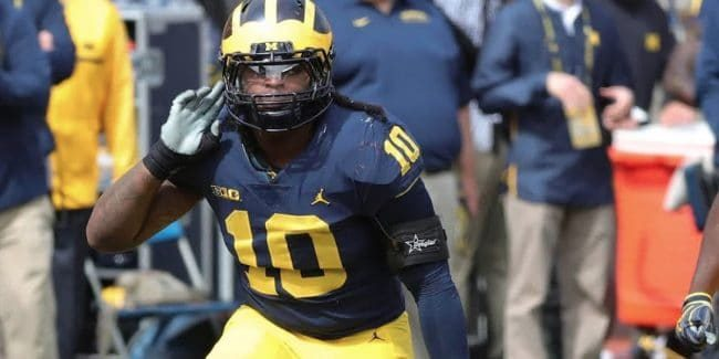 devin bush nfl draft outfit twitter reactions