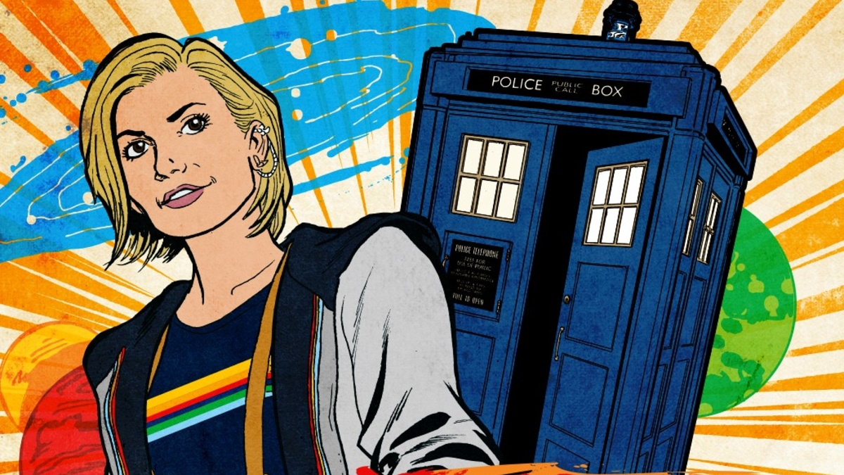 It's time to artistically pay homage to Doctor Who. Pic credit: BBC