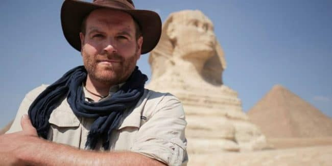 Exclusive interview: Josh Gates on incredible moment sarcophagus will be opened in real-time on Expedition Unknown: Egypt Live