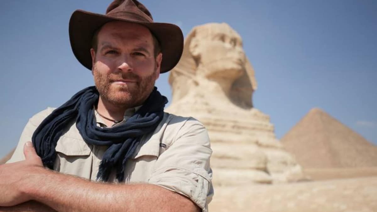 egyot - Exclusive interview: Josh Gates on incredible moment sarcophagus will be opened in real-time on Expedition Unknown: Egypt Live