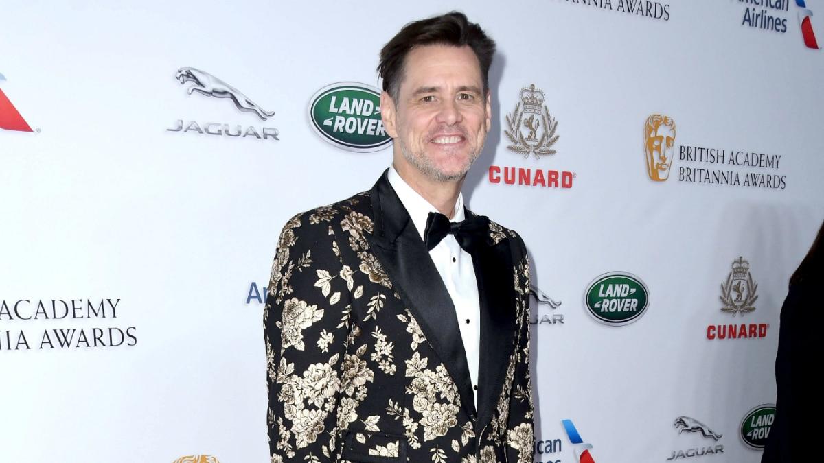 Jim Carrey. 2018 British Academy Britannia Awards held at The Beverly Hilton Hotel.