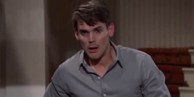 Mark Grossman as Adam Newman on The Young and the Restless.