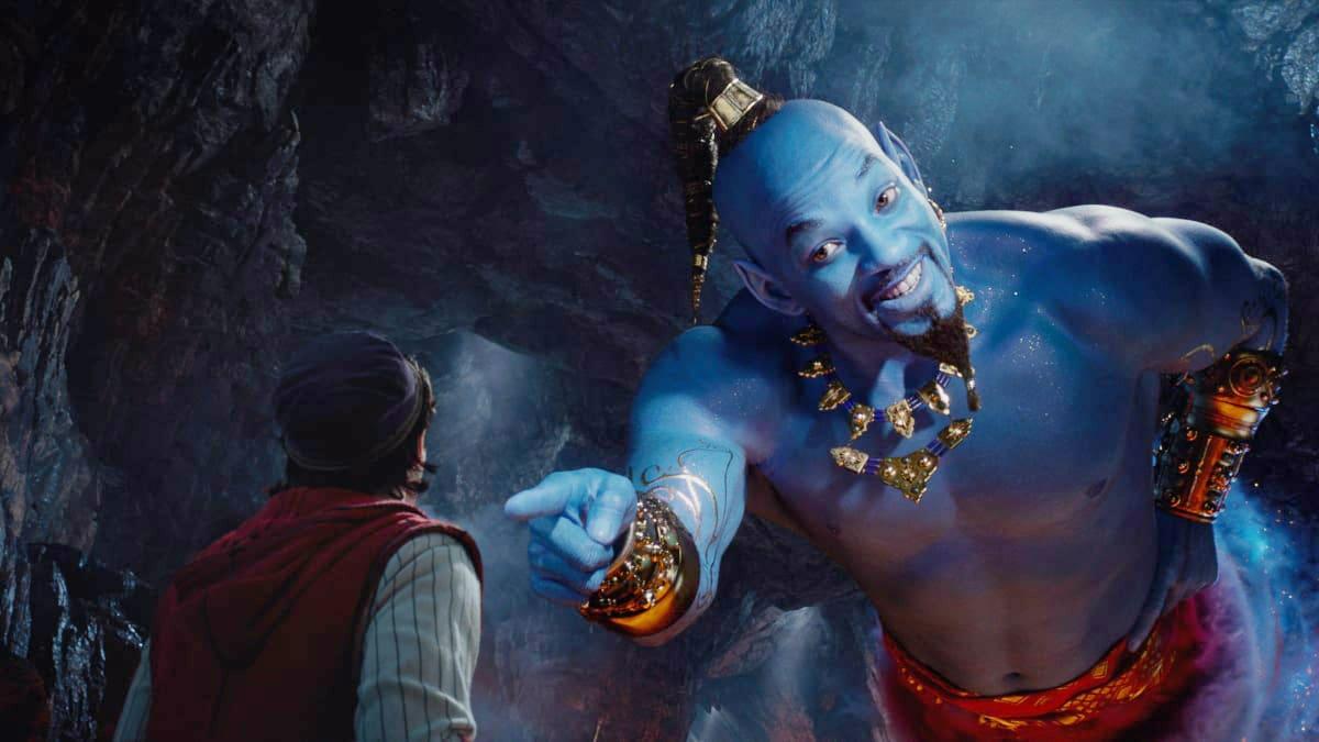Will Smith as the Genie in Aladdin