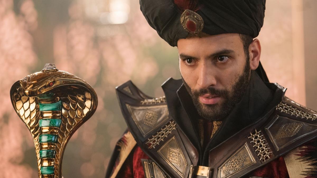Marwan Kenzari  as Jafar in Aladdin