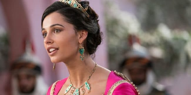 Naomi Scott talks about singing Jasmine's all new show stopping song in Aladdin