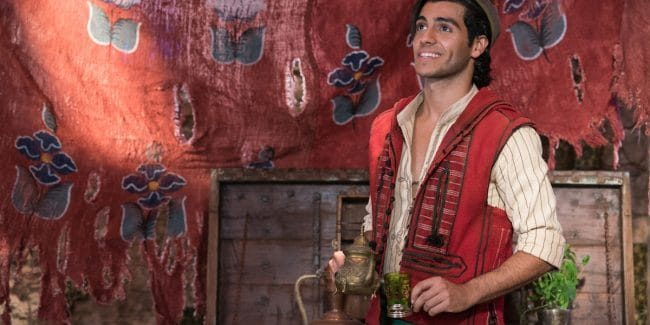 Mena Massoud talks about learning the Bollywood dance in Aladdin