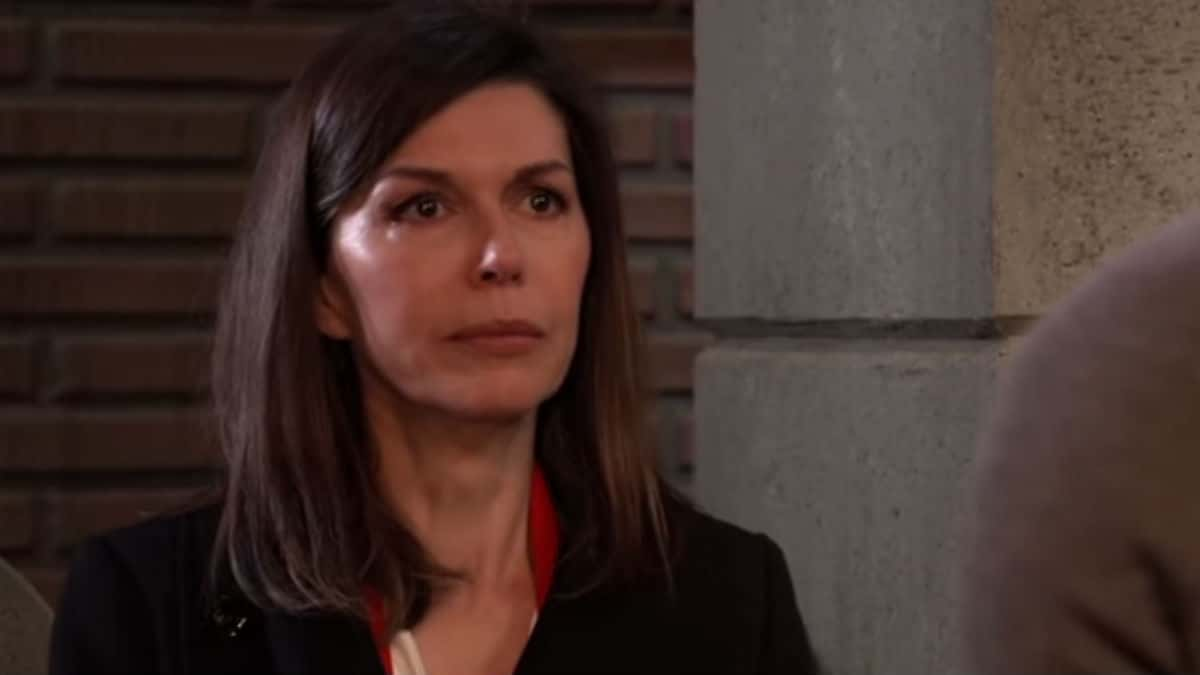 Finola Hughes as Anna Devane on General Hospital.