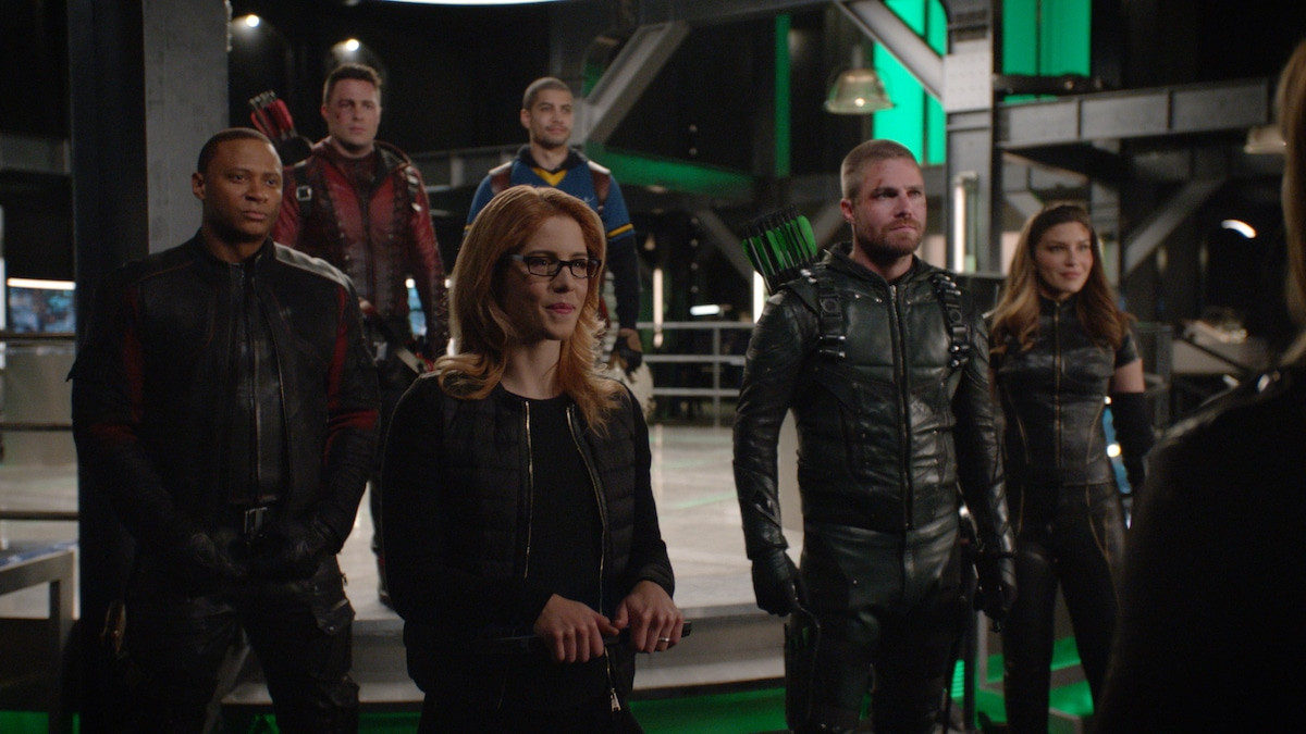 Team Arrow Assembles in the seventh season finale