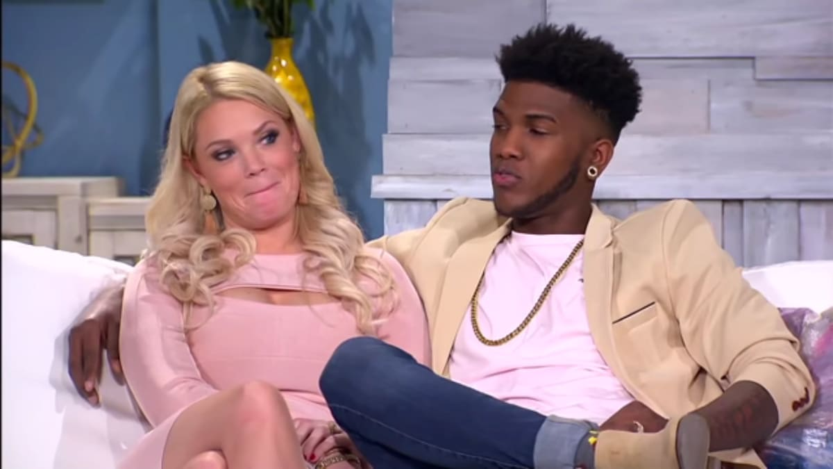 Ashley Martson and Jay Smith at the 90 Day Fiance Tell All