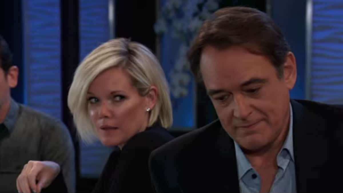 Maura West and Jon Lindstrom as Ava and Kevin on General Hospital.