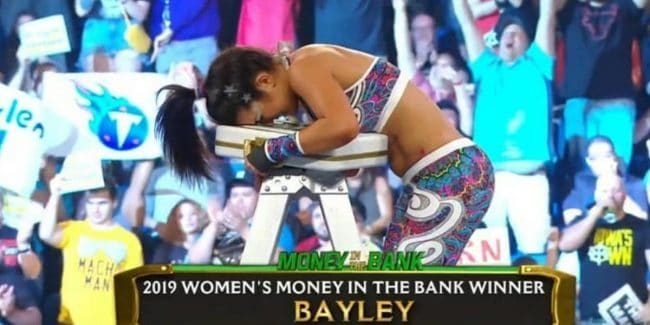 WWE hints at Sasha Banks return at 2019 Money in the Bank