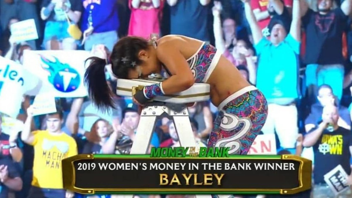 Bayley wins 2019 Money in the Bank