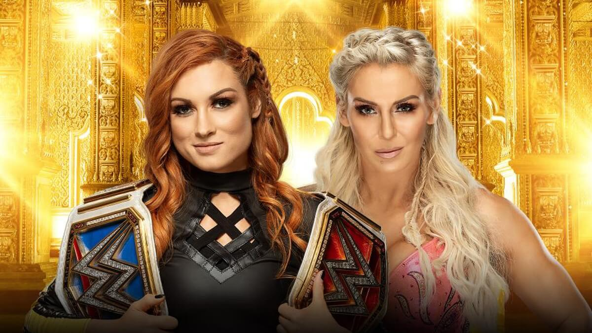 Raw and SmackDown Women's Champion Becky Lynch vs Charlotte Flair (SmackDown Women's Title Match)