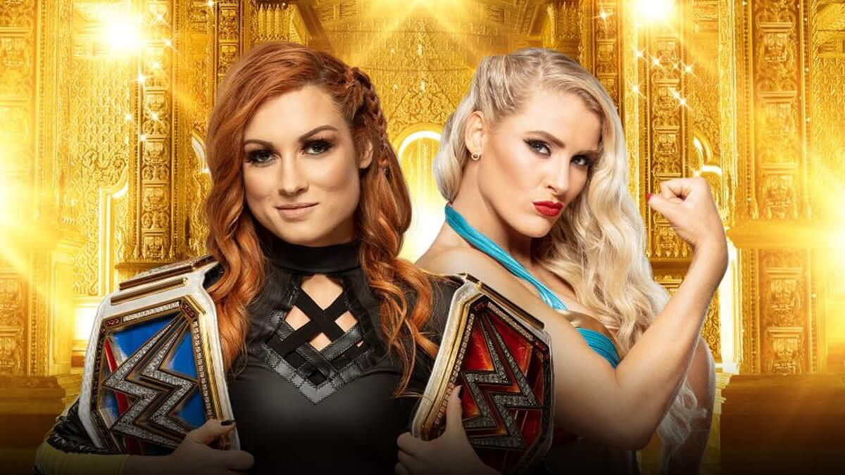 Raw & SmackDown Women's Champion Becky Lynch vs. Lacey Evans (Raw Women's Title Match)