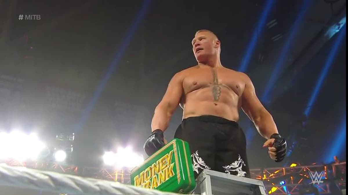 Brock Lesnar returns at Money in the Bank.