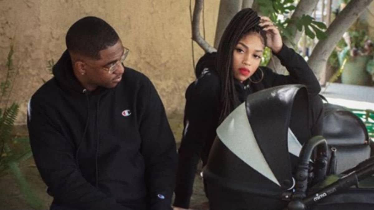 Brooke Valentine Baby with Marcus 150x150 - Brooke Valentine baby: Marcus Black reveals LHH star was pregnant in Mother's Day tribute