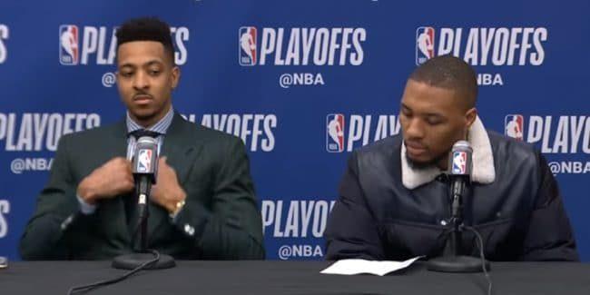 CJ McCollum & Damian Lillard lead the Blazers against the Warriors in 2019 NBA Playoffs