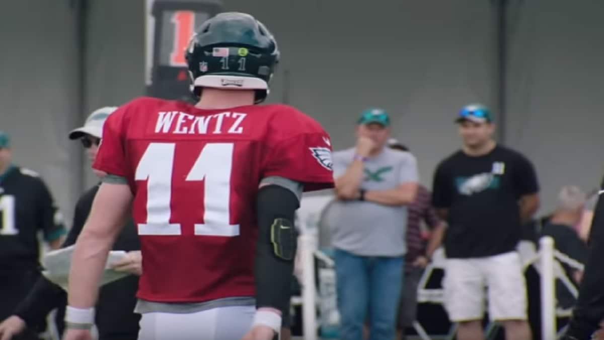 3062b5aa4fa Carson Wentz contract rumors: Predictions made for Philadelphia Eagles deal