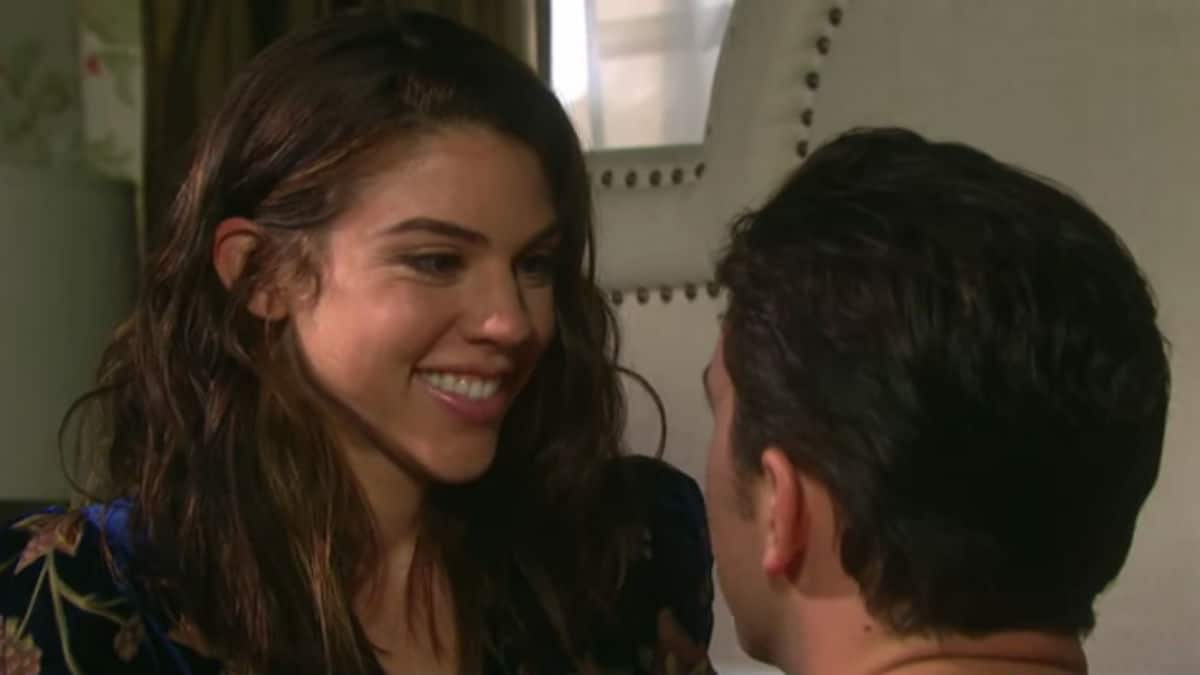 Kate Mansi and Billy Flynn as Chad and Abigail on Days of our Lives.