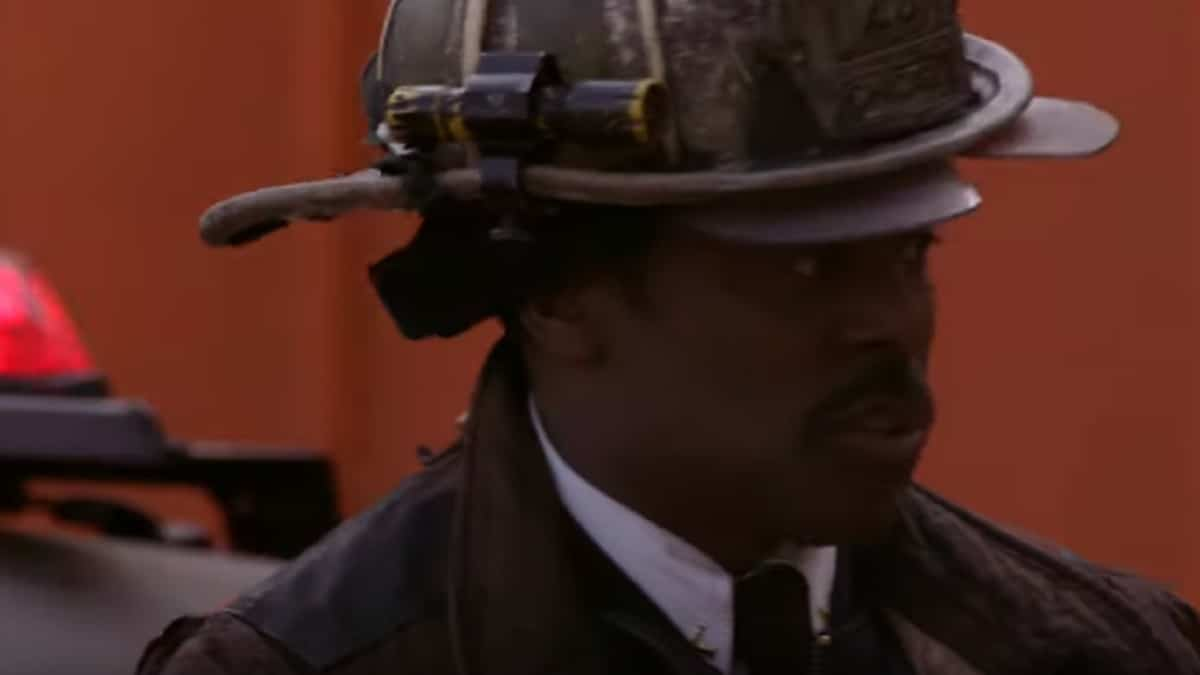 Chief Wallace Boden (Eamonn Walker) during Chicago Fire season finale
