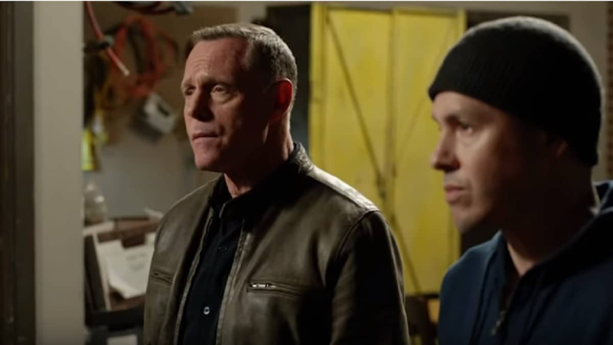Voight and Dawson during Season 6 of Chicago P.D.