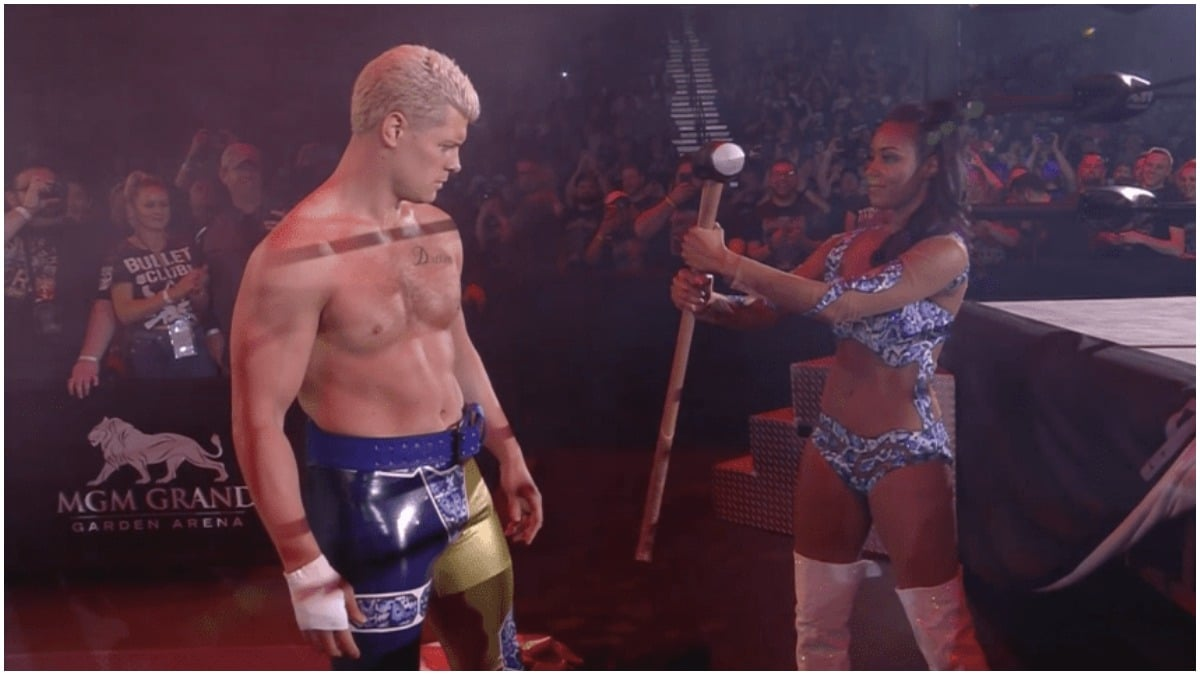 Cody Rhodes explains why he took that shot at WWE during AEW Double or Nothing