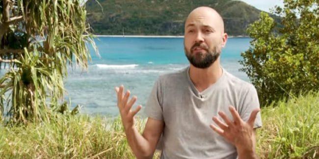 David Wright on Survivor: Edge of Extinction