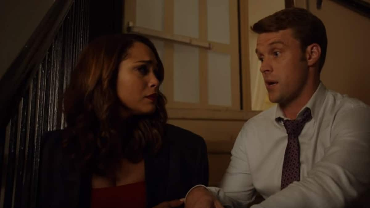 Gabby Dawson and Matthew Casey on Chicago Fire cast
