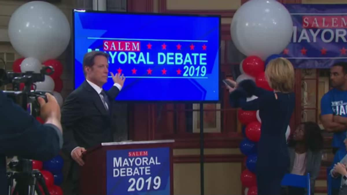 The mayoral debates in Salem.