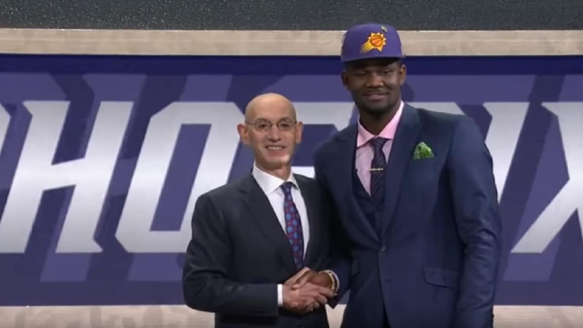 DeAndre Ayton was the No. 1 pick of the 2018 NBA Draft
