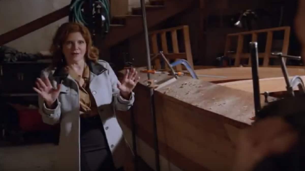 Actress Melinda McGraw as Diane Sterling on Season 16, episode 24 of NCIS