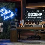 Kelsey Witherow presents Doughp on Shark Tank