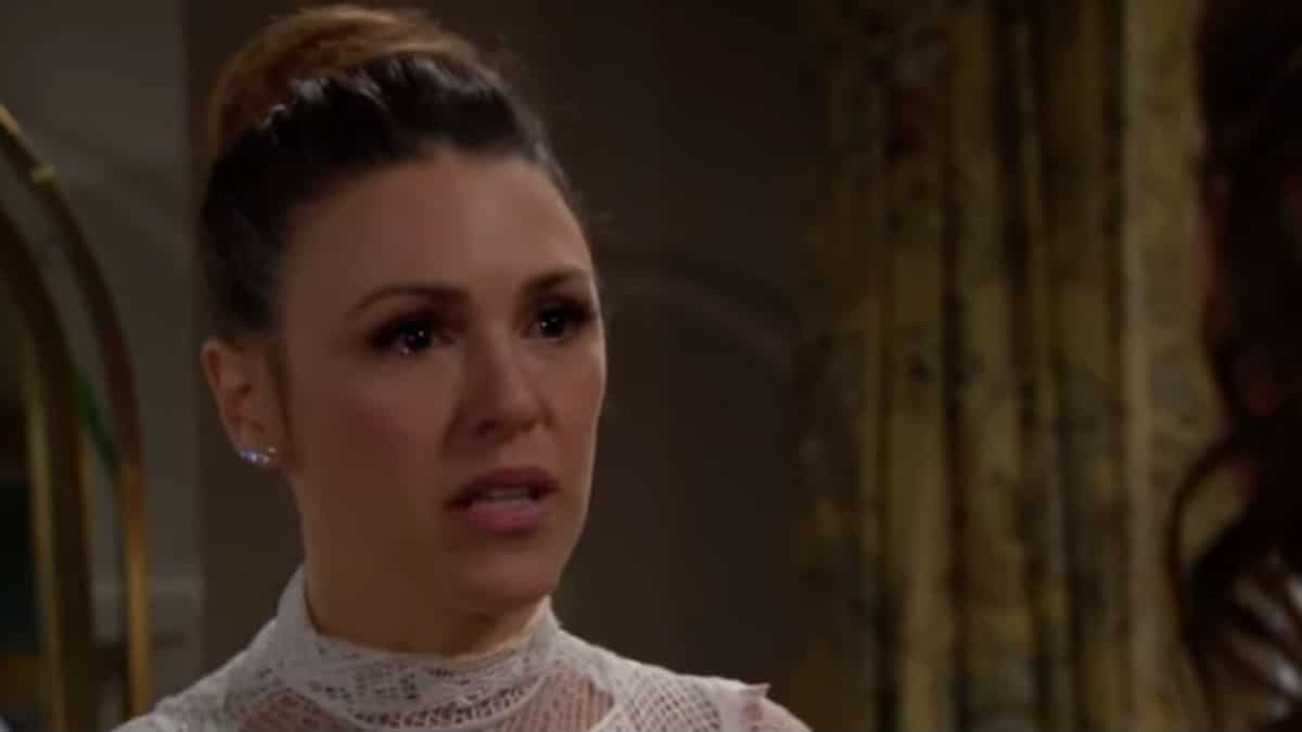 Elizabeth Hendrickson as Chloe Mitchell on The Young and the Restless.