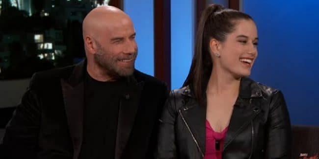 Ella Bleu and John Travolta