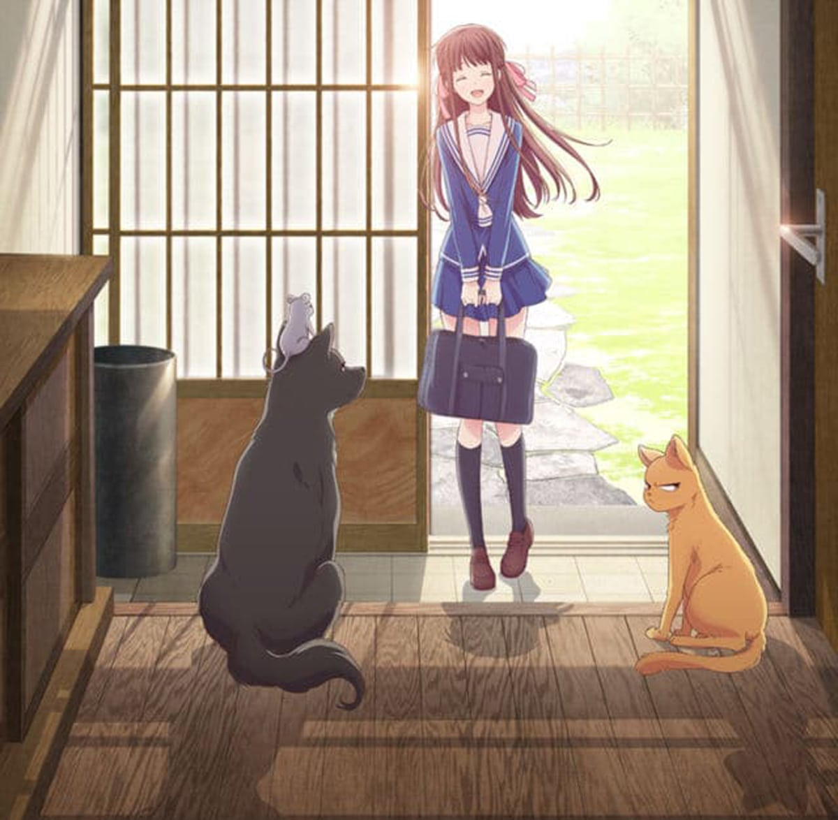 Fruits Basket 2019 Anime New Characters Art Style
