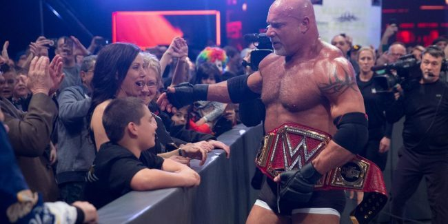 Randy Orton mocks WWE bringing back Goldberg for Saudi Arabia show