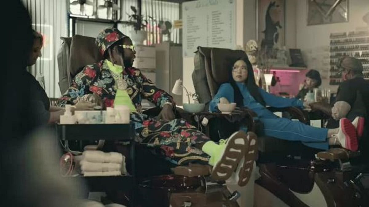 2 Chainz and Awkwafina in the new Google Pixel 3a commercial