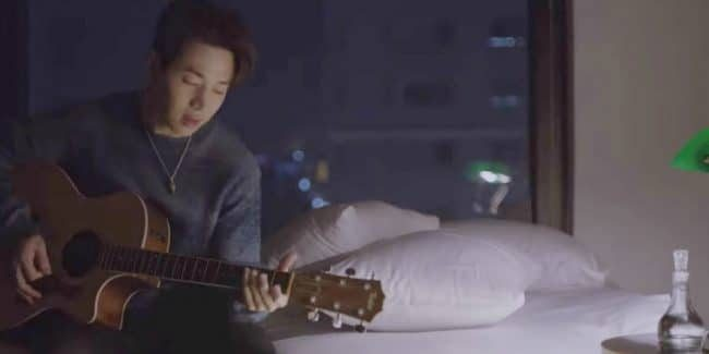 Henry in the music video for Untitled Love Song