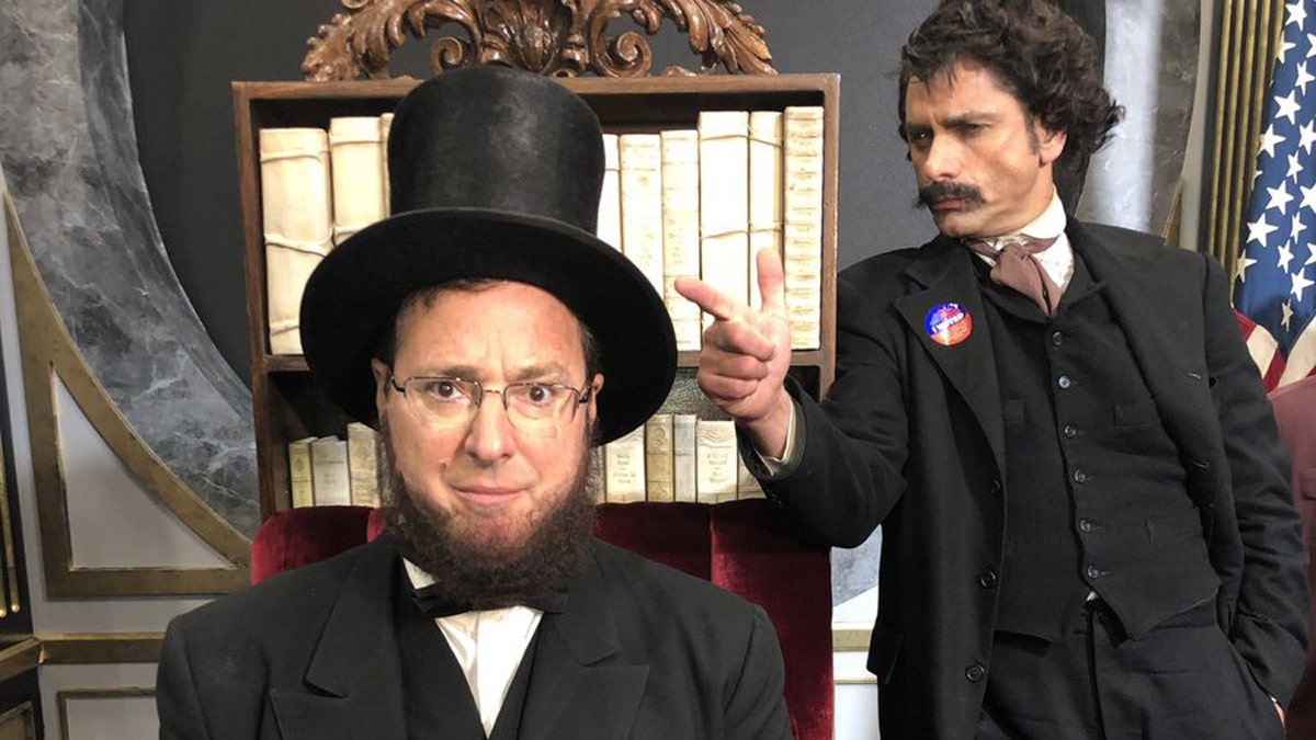 Historical Roasts cast: Who plays Lincoln?