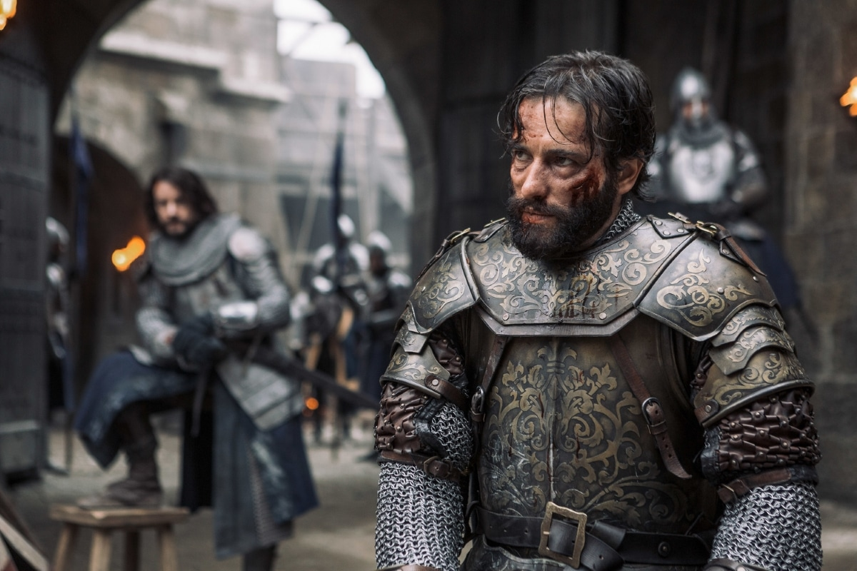 History Channel's 'Knightfall,' Season 2, Episode 7, Death Awaits, Ed Stoppard stars as King Philip