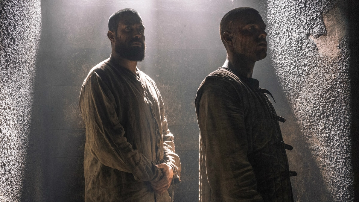 History Channel's 'Knightfall,' Season 2, Episode 7, Death Awaits, Tom Cullen stars as Landry