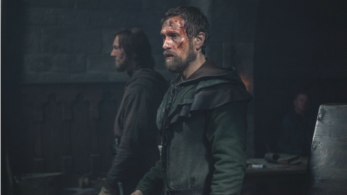 Tancrede, as he appears in the Season 2 finale episode of History Channel's Knightfall
