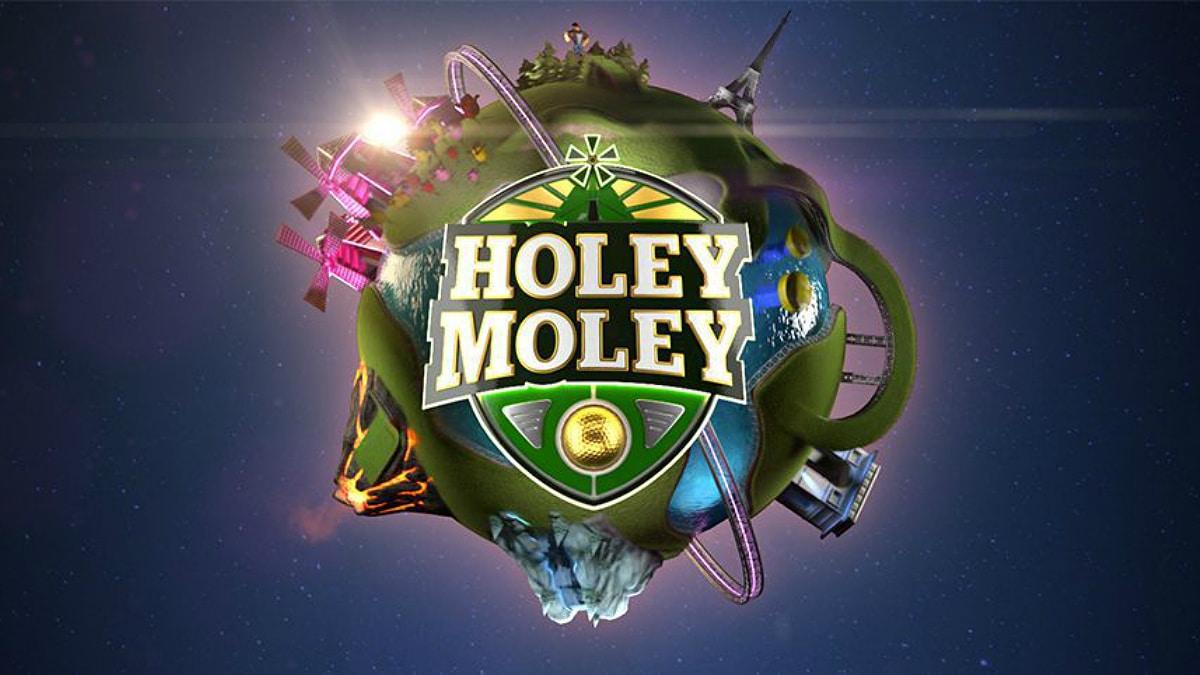 Holey Moley TV show logo