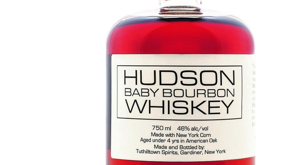 Cool apothecary bottle with equally fine contents. Pic credit: Hudson Baby Bourbon Whiskey