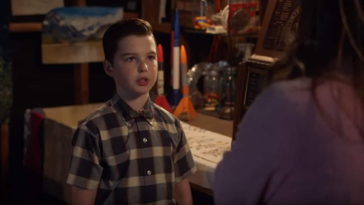 Iain Armitage is the star of Young Sheldon cast