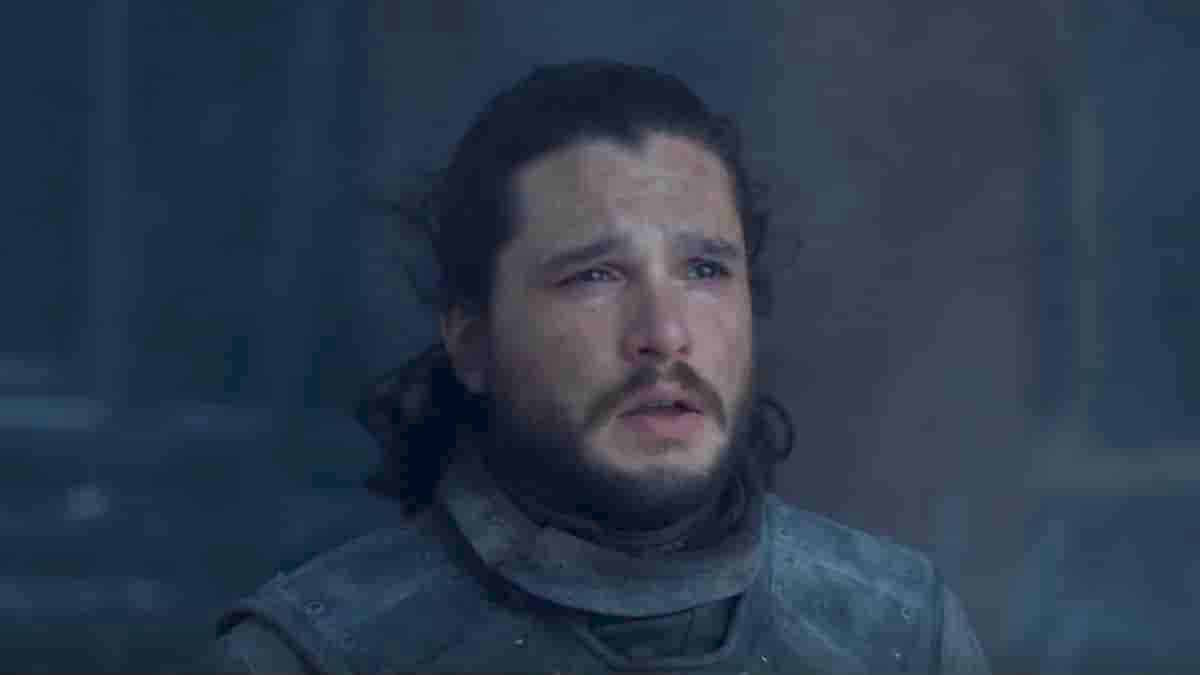 Jon Snow in the finale Game of Thrones