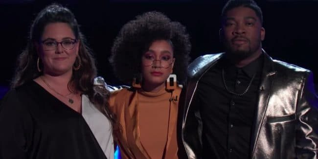 Kim Cherry, Mari, and JB Crew wait for Instant Vote results