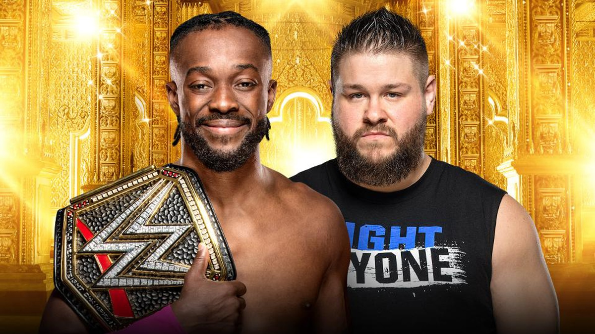 WWE Champion Kofi Kingston vs. Kevin Owens