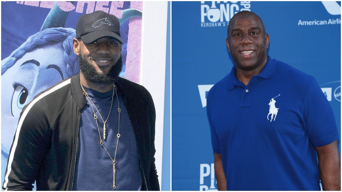 LeBron James finally responds to Magic Johnson quitting Lakers